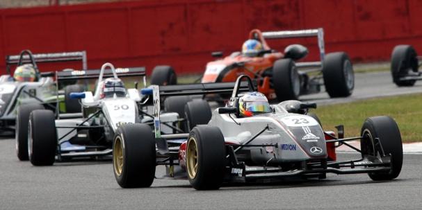 Maro Engel, 2007 British F3 Championship (Photo Credit: SRO)