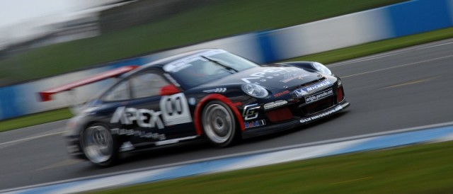Glynn Geddie in Carrera Cup GB mode at Donington Park (Photo Credit: Chris Gurton Photography)