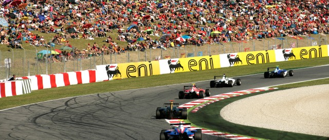 The GP3 season starts in front of the Spanish GP crowd this weekend - Photo Credit: Drew Gibson/GP3 Media Service