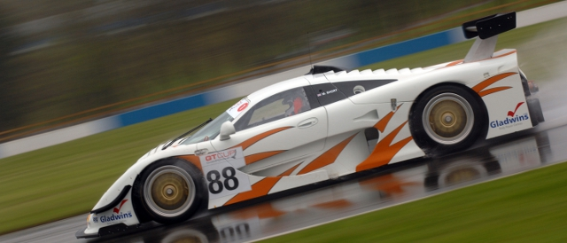 Martin Short's Mosler, GT Cup Donington Park (Photo Credit: Karl Bowdrey Photography)