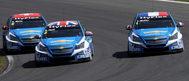 Rob Huff and Yvan Muller - Photo Credit: WTCC Media