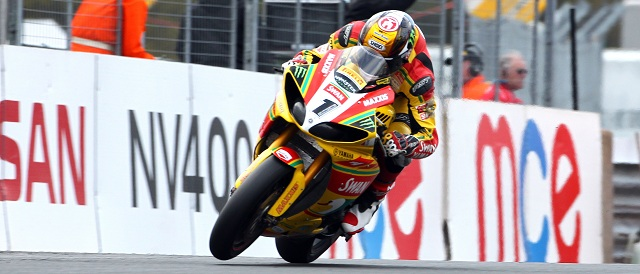 Tommy Hill takes victory in race one - Photo Credit: Impact Images