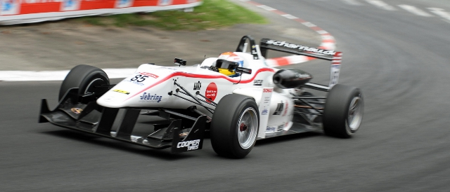 Felix Rosenqvist in action at the Grand Prix de Pau (Photo Credit: F3 Euroseries)