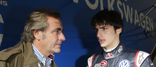 Sainz Snr. takes serious interest in his son's rise through the single seater ranks (Photo Credit: VW Motorsport)