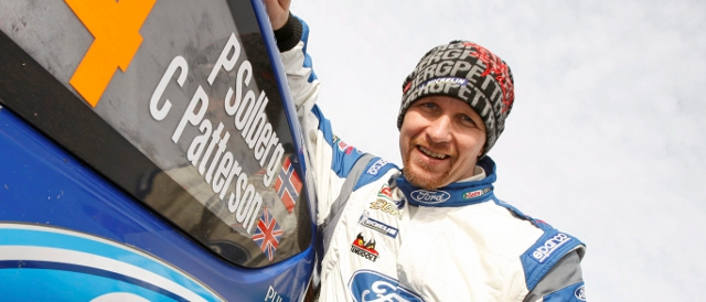 Petter Solberg and the WRC Fiesta will be at Castle Combe on August 18