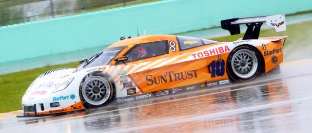 SunTrust Racing won the rain shortened Grand Prix of Miami (Photo Credit: Grand-Am)