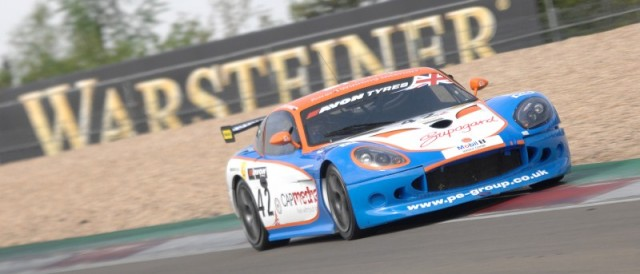 Zoe Wenham brings the Century Motorsport Ginetta G50 towards a podium finish (Photo Credit: Chris Gurton Photography)