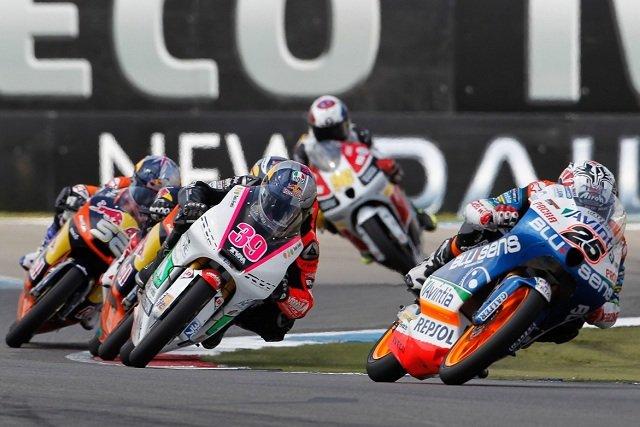 Maverick Vinales wins the Moto3 race at Assen - Photo Credit: MotoGP.com