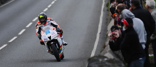 Bruce Anstey - Photo Credit: Isle of Man TT
