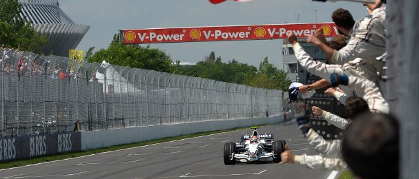 Robert Kubica had a nasty accident in the BMW Sauber at the Canadian Grand Prix in 2007, but came back a year later to lead a 1-2 for the team with Nick Heidfeld - Photo Credit: Sauber Motorsport AG
