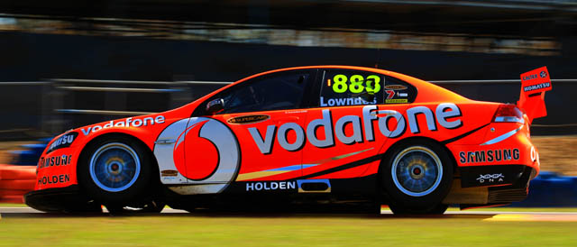 Craig Lowndes at the SKYCITY Triple Crown in Darwin Photo credit: TeamVodafone