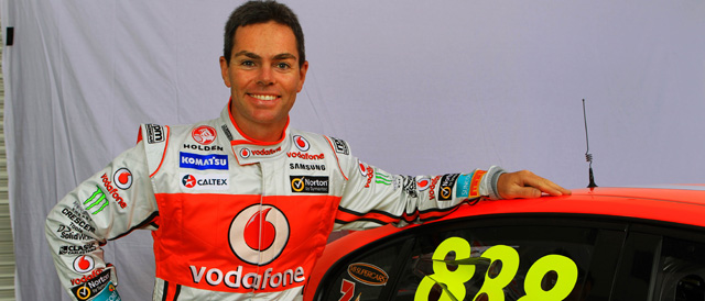 Craig Lowndes awarded in Queen's Birthday Honours List Photo credit: TeamVodafone