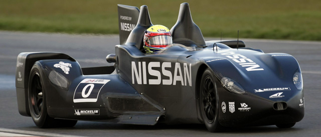 Nissan DeltaWing project heads to Le Mans for 2012 - Photo: Nissan