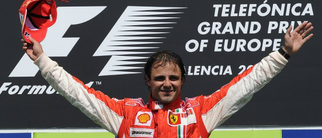 Felipe Massa victorious in Valencia in 2008. Will there be a Ferrari driver standing on the top step of the podium this weekend? - Photo Credit: Ferrari