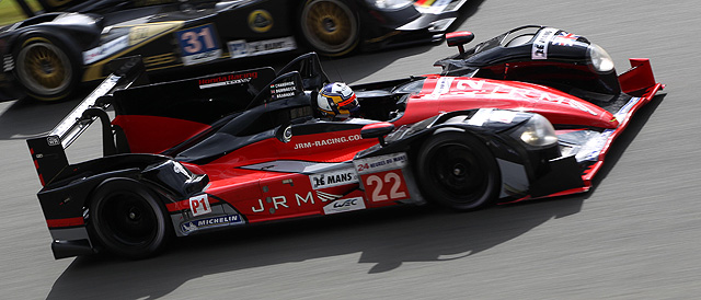 JRM Racing in action at Circuit de la Sarthe - Photo: JRM Racing