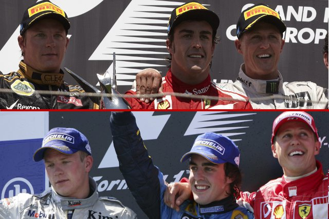 We look back at the European Grand Prix, and remind ourselves of what Formula 1 was like a few years ago...