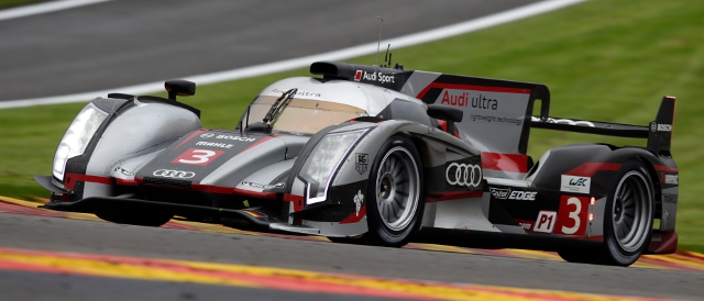 Marc Gene started his Audi career victorious at Spa-Francorchamps (Photo Credit: Audi Motorsport)