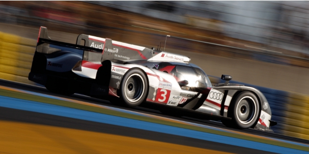 #3 Audi R18 ultra, 2012 24 Hours of Le Mans (Photo Credit: Audi Motorsport)