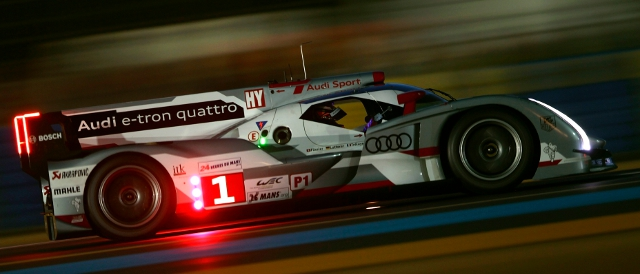 Andre Lotterer heads and e-tron quattro 1-2 after first qualifying (Photo Credit: Audi Motorsport)