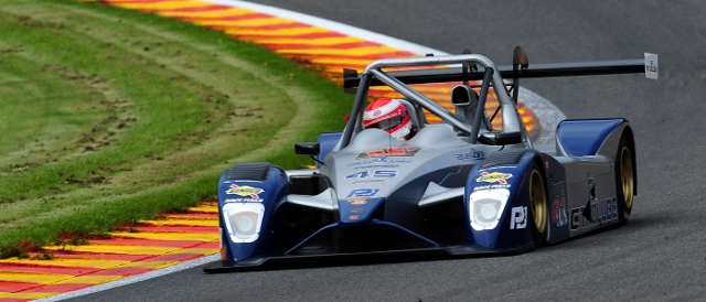 Ivan Bellarosa sweeps around Spa-Francorchamps (Photo Credit: Peter May)