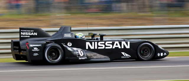 Nissan Deltawing at Le Mans (Photo Credit: Drew Gibson/Nissan)