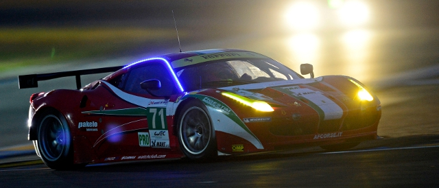 Ferrari have a 1-2 in LMGTE Pro (Photo Credit: ferrari.com)