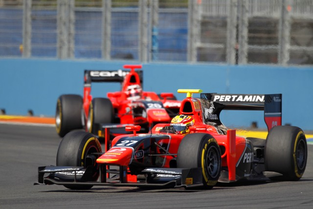 Rio Haryanto - Photo Credit: Andrew Ferraro/GP2 Media Service