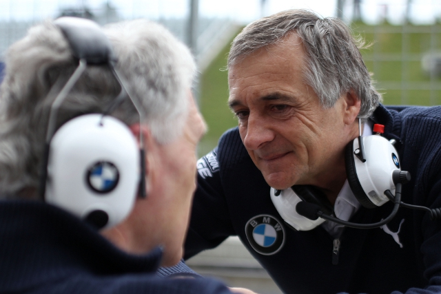 Charly Lamm (Photo Credit: BMW AG)