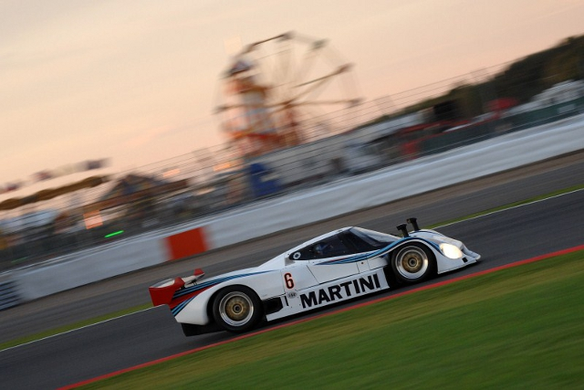 Three Martini liveried Lancia LC2 will star at Silverstone Classic (Photo Credit: Chris Gurton Photography)