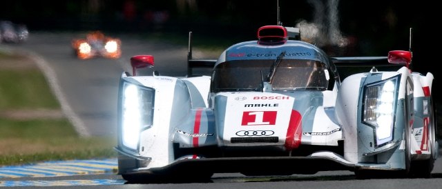#1 Audi R18 e-tron quattro, 2012 24 Hours of Le Mans (Photo Credit: MacLean Photographic)