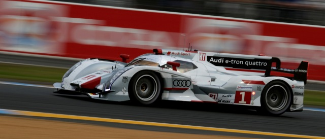 Audi R18 e-tron quattro - Photo Credit: Audi Motorsport