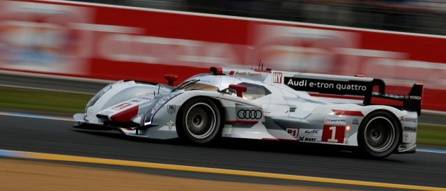 Audi R18 e-tron quattro - Photo Credit: Audi Motorsport