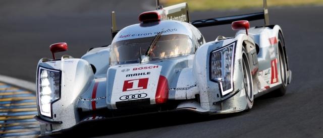 #1 Audi - Photo Credit: Audi Motorsport