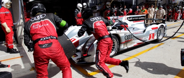 #1 Audi - Photo Credit: Audi Motorsport