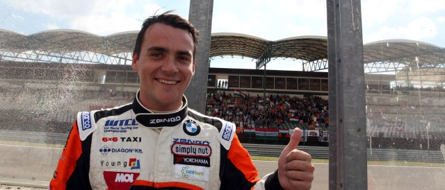 The 33-year old son of father Andras Michelisz and mother Teri Michelisz, 180 cm tall Norbert Michelisz in 2017 photo