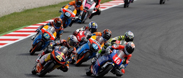 Moto3 action - Photo Credit: MotoGP.com