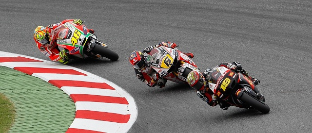 Alvaro Bautista (no.19) - Photo Credit: MotoGP.com