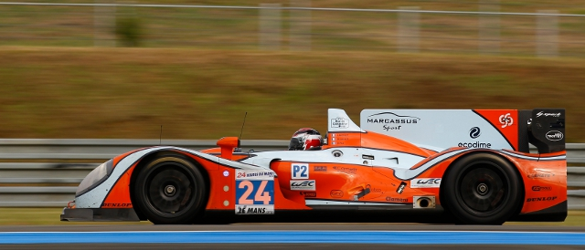 LMP2 leader OAK Racing #24 Morgan-Judd (Photo Credit: Jean Michel Le Meur/DPPI)