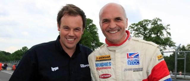 Paul O'Neill and Tony Hughes - Photo Credit: Toyota UK