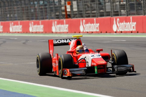 Luiz Razia - Photo Credit: Alastair Staley/GP2 Media Service