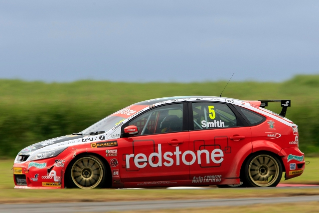 Aron Smith, BTCC Croft, 2012 (Photo Credit: btcc.net)