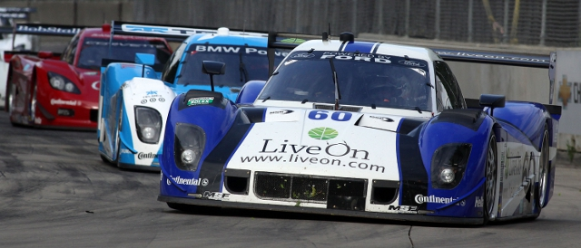 Michael Shank Racing on the streets of Detroit (Photo Credit: Grand-Am)