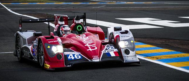 Thiriet by TDS Racing are involved in a tight battle for second in LMP2 (Photo Credit: Rolex/Stephan Cooper)