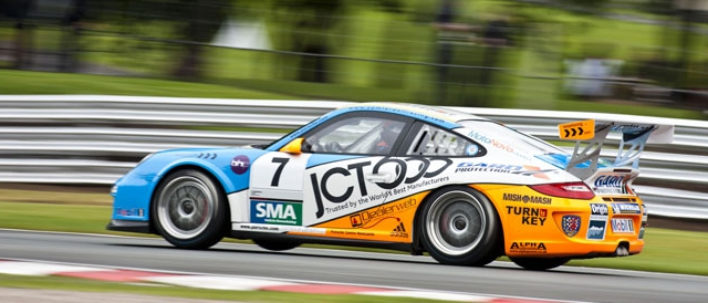 Sam Tordoff will start the first of the two Carrera Cup UK from pole.