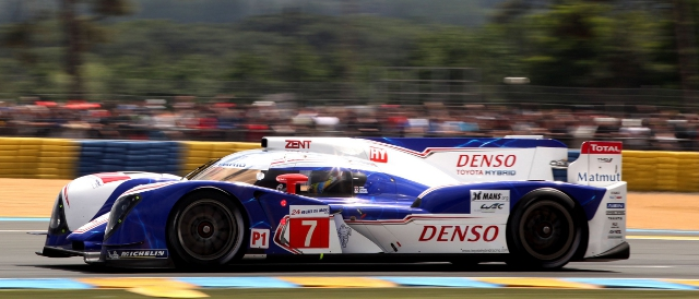 #7 Toyota TS030 Hybrid (Photo Credit: Toyota Racing)