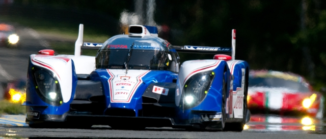 Toyota TS030 Hybrid at Le Mans (Photo Credit: MacLean Photographic)