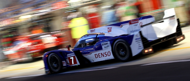 Nicolas Lapierre was the fastest Toyota driver in qualifying in the #7 (Photo Credit: Toyota Motorsport)