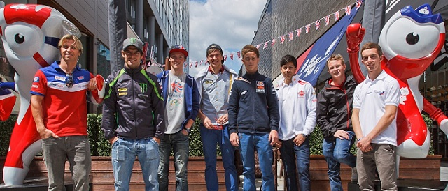 The British MotoGP contingent this weekend - Photo Credit: MotoGP.com