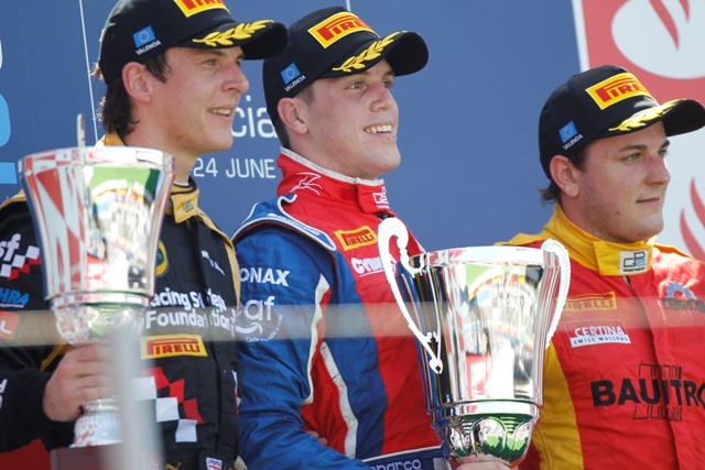 James Calado, Luiz Razia, Fabio Leimer - Photo Credit: Andrew Ferraro/GP2 Media Service