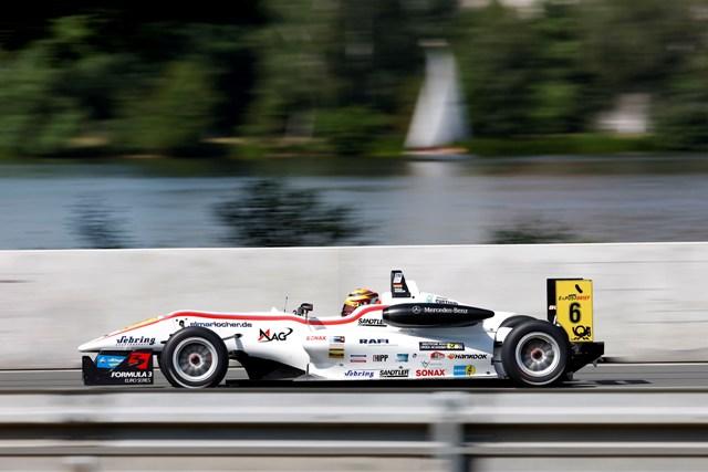 Pascal Wehrlein - Photo Credit: Formula 3 Euro Series